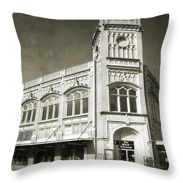 Drive By Memories Throw Pillow