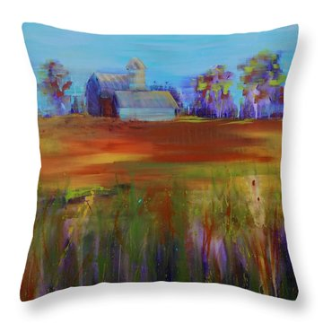 Drive-by View Throw Pillow