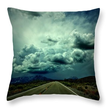 Drive On Throw Pillow