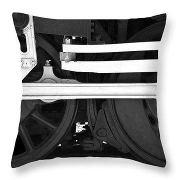Drive Train Throw Pillow
