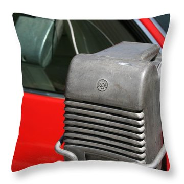 Drivein Throw Pillow by Gwyn Newcombe