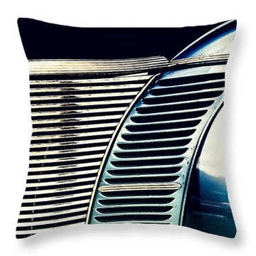 Driven To Abstraction Throw Pillow by Caitlyn Grasso