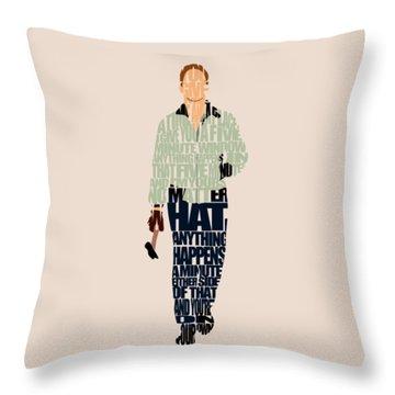 Driver - Ryan Gosling Throw Pillow