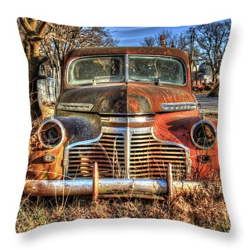 Driverless Car Throw Pillow