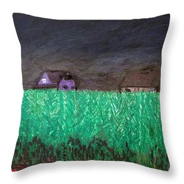 Driving 83 Throw Pillow