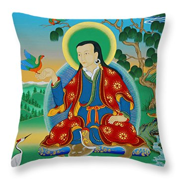 Drokben Khyecung Lotsawa Throw Pillow