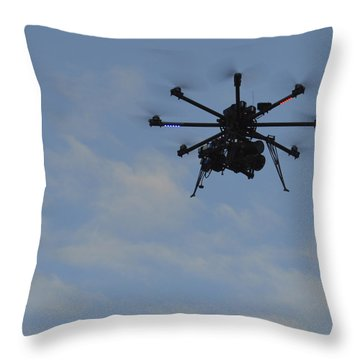 Drone Throw Pillow