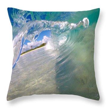Droplit Throw Pillow