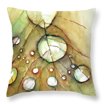 Dropping In Throw Pillow by Allison Ashton