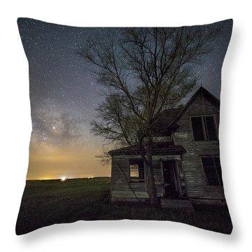 Drops Of Jupiter  Throw Pillow by Aaron J Groen