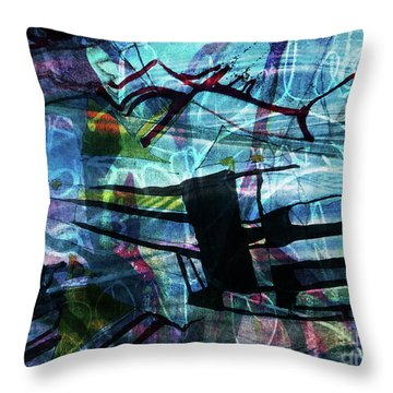 Drowned Princess Ix Throw Pillow