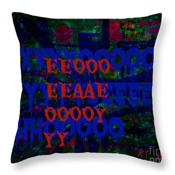 Drowned Princess Viii Throw Pillow