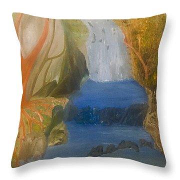 Drowning At 7 Conversations Series Throw Pillow