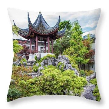 Dr. Sun Yat Sen Classical Chinese Garden, Vancouver Throw Pillow