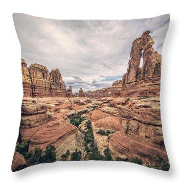 Druid Arch Throw Pillow