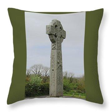 Drumcliff High Cross Throw Pillow
