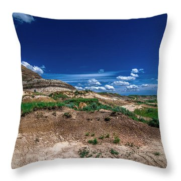 Drumheller Side View Throw Pillow