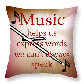 Drums And Music Fine Art Photographs Art Prints 5003.02 Throw Pillow