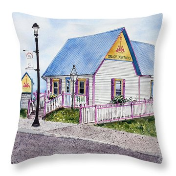 Drury Lane Books Throw Pillow