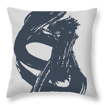 Dry Brush 1 Throw Pillow