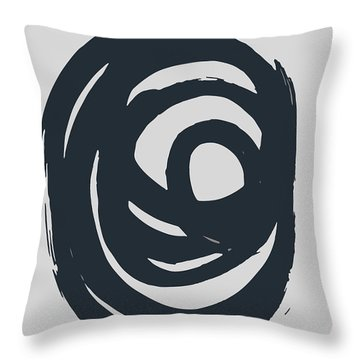 Dry Brush 2 Throw Pillow