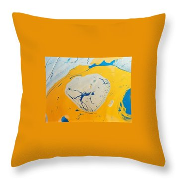 Dry Drip Ranch Throw Pillow