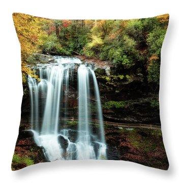 Dry Falls Autumn Splendor Throw Pillow