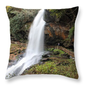 Dry Falls, Nc 10/19/2013 G Throw Pillow