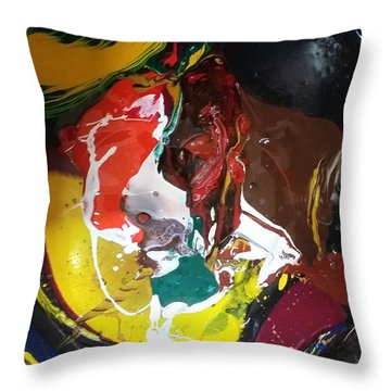 Dry Paprika Throw Pillow