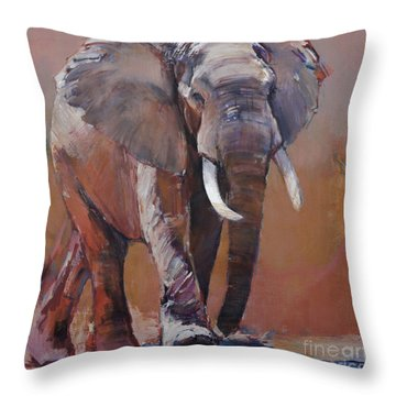 Dry Season, Loisaba Throw Pillow