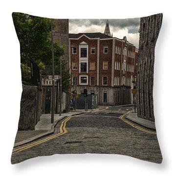Dublin Street Throw Pillow
