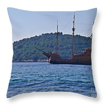 Dubrovniks Game Of Thrones  Throw Pillow