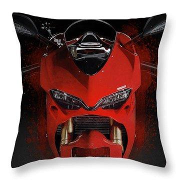 Ducati 1299 Panigale Throw Pillow
