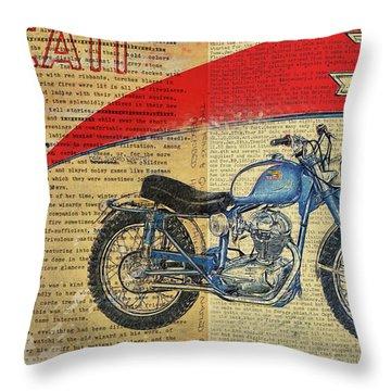 Ducati Scrambler 250 Throw Pillow