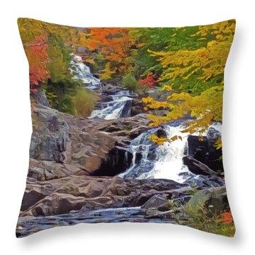 Duchesnay Falls 3 Throw Pillow