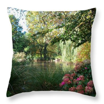 Duck Haven Throw Pillow