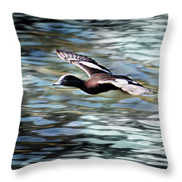 Duck Leader Throw Pillow