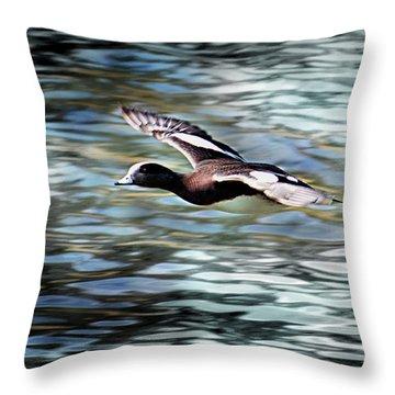 Duck Leader Throw Pillow