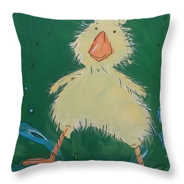 Duckling 1 Throw Pillow