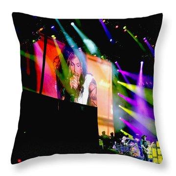 Sweet Emotion. Aerosmith Live Throw Pillow