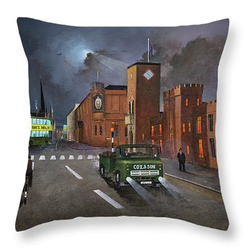 Dudley, Capital Of The Black Country Throw Pillow