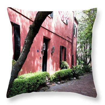 Dueler's Alley Throw Pillow