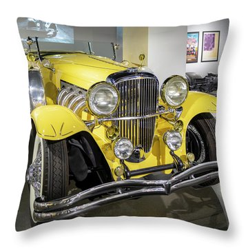 Duesenberg II S J Throw Pillow