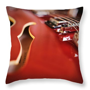 Duesenberg Throw Pillow