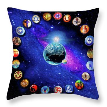 Dufette Throw Pillow