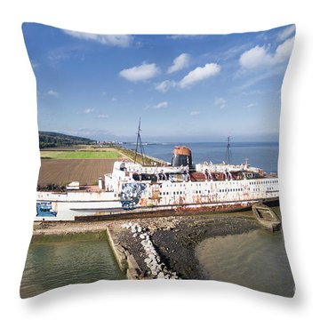 Duke Of Lancaster 1 Throw Pillow by Steev Stamford