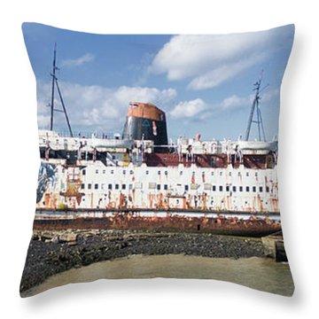 Duke Of Lancaster 3 Pano Throw Pillow by Steev Stamford
