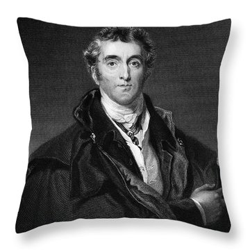 Duke Of Wellington Throw Pillow by Granger