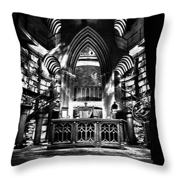 Dumbledores Study Throw Pillow by David Lee Thompson