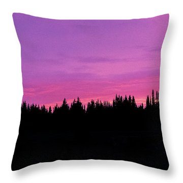 Dumont Cotton Candy  Throw Pillow